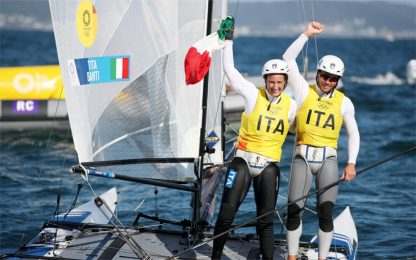 La vela torna a medaglia: Tita-Banti sono d'oro!