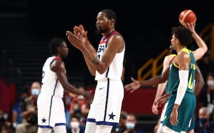 Team USA spazza via l'Australia 97-78: sarà finale