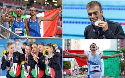 Da quali regioni vengono le medaglie dell'Italia?