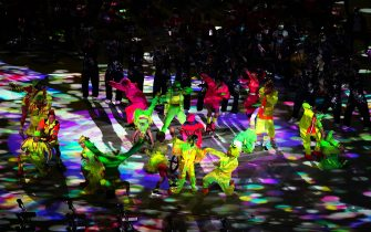 Performers during the closing ceremony of the Tokyo 2020 Paralympic Games at Olympic Stadium in Japan. Picture date: Sunday September 5, 2021.