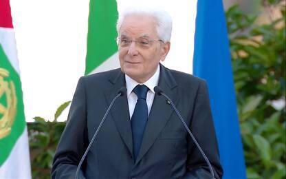 """Mattarella: """"Grande senso civico degli italiani"""""""
