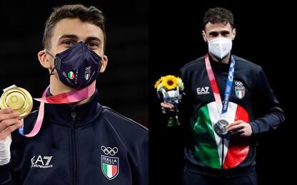 Dell'Aquila e Samele: le medaglie azzurre
