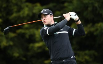Italy's Guido Migliozzi during day one of the Betfred British Masters at The Belfry, Sutton Coldfield. Picture date: Wednesday May 12, 2021.