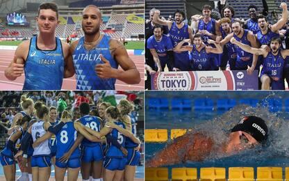 Tokyo, 384 azzurri in gara: record per l'Italia