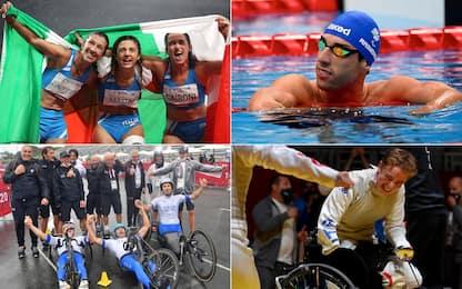 Tutte le 69 medaglie dell'Italia a Tokyo