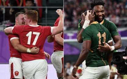 Mondiali: Galles e Sudafrica in semifinale