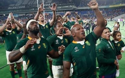 Sudafrica in finale, battuto il Galles 19-16