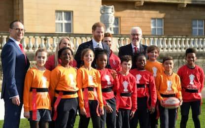 Rugby League, principe Harry presente ai sorteggi