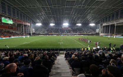 Nuova Zelanda, riecco il rugby con i tifosi. FOTO