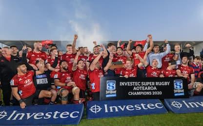 Super Rugby Aotearoa, vincono ancora i Crusaders