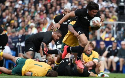 Bledisloe Cup: All Blacks-Australia 27-7