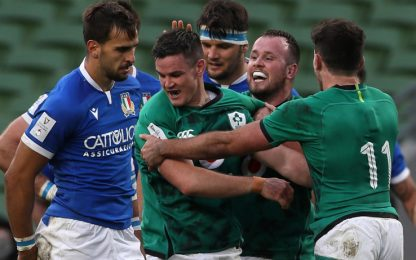 6 Nazioni, Italia ko a Dublino con l'Irlanda 50-17