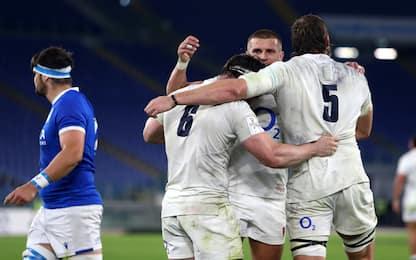 Inghilterra vince il Sei Nazioni: Italia ko 34-5