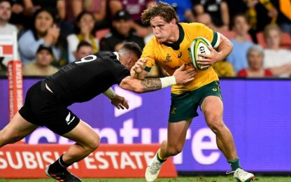 Rivincita Australia, All Blacks sconfitti 24-22
