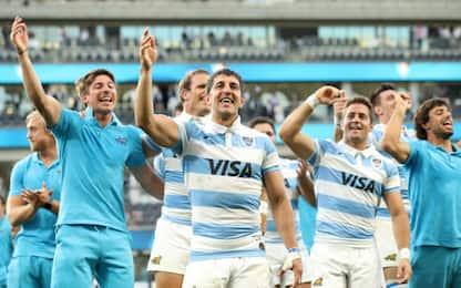 Argentina, storico successo: All Blacks ko 25-15