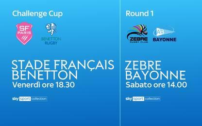 Rugby, le Coppe Europee tornano su Sky. La guida