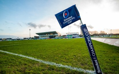 Rugby, sospese Champions Cup e Challenge Cup