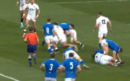 Italia ancora ko: vince l'Inghilterra 41-18