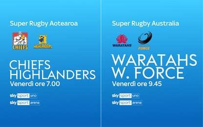 Il rugby dell'altro mondo è su Sky Sport