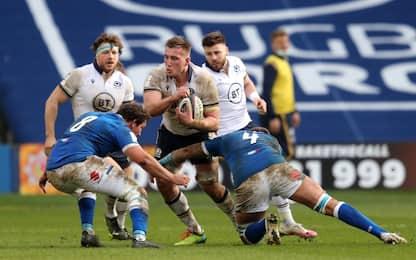 Italrugby ancora ko: la Scozia vince 52-10