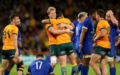 L'Australia batte la Francia, All Blacks esagerati