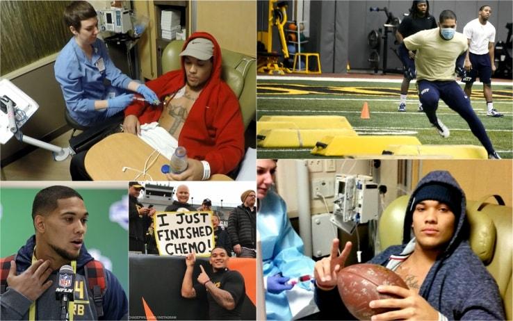 James Conner nel 2005 ha sconfitto un linfoma di Hodgkin