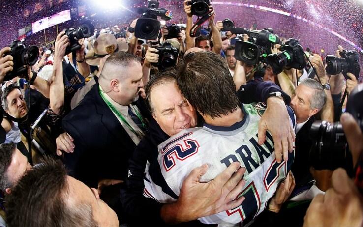 Belichick e Brady insieme hanno vinto 6 Super Bowl e perso 3 finali