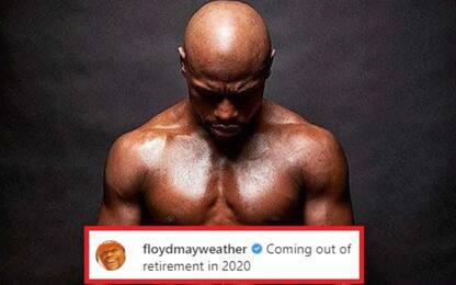 """Mayweather: """"Tornerò nel 2020"""". Combatterà in UFC?"""