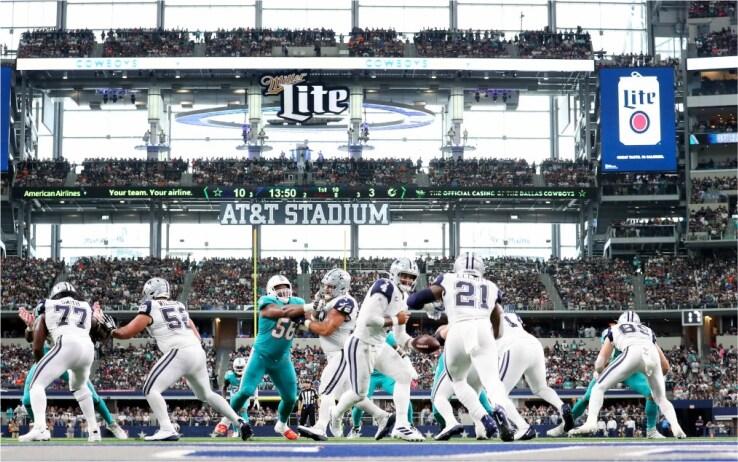 L'AT&T Stadium è il più costoso al mondo (1 miliardo e 300 milioni di dollari)