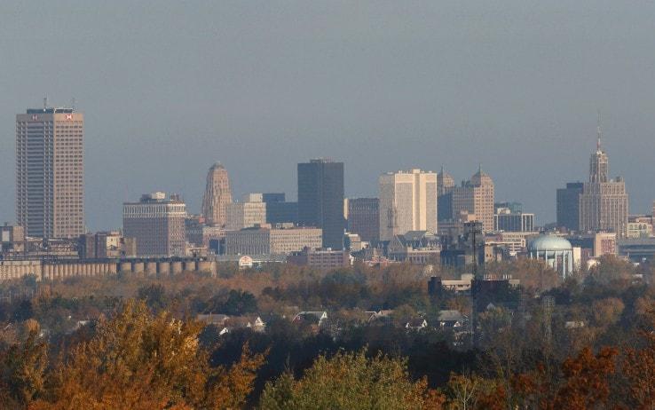 La skyline di Buffalo