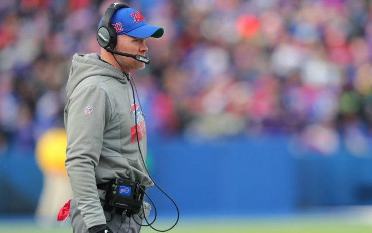 Sean McDermott, head coach di Buffalo dal 2017