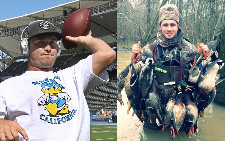 """Devlin """"Duck"""" Hodges, i campo e... fuori (twitter)"""