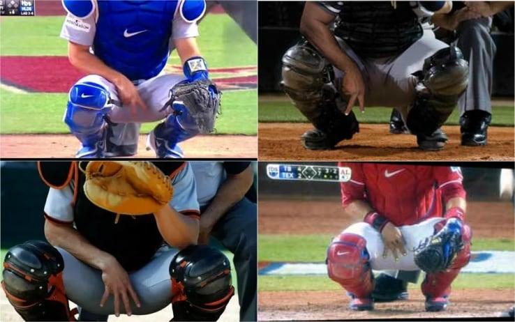Esempi di alcuni segnali dei pitcher