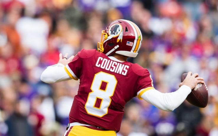 Kirk Cousins ai tempi dei Redskins