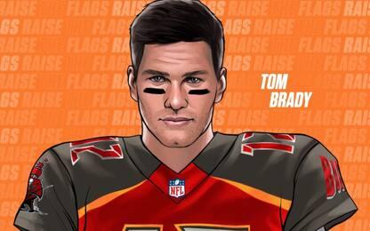 Tom Brady lascia i Patriots: andrà ai Buccaneers