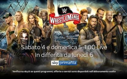 WrestleMania 36 sabato 4 e domenica 5 su Sky