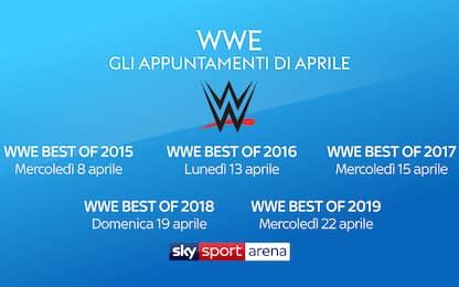 Wrestling WWE: da oggi 5 giornate da non perdere