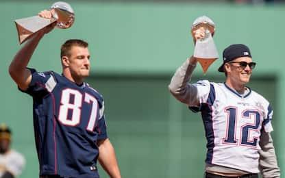 Gronkowski torna a giocare con Brady ai Tampa Bay