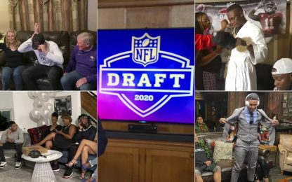 Draft NFL, le 32 scelte del primo giro. FOTO