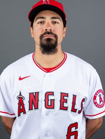 TEMPE, ARIZONA - FEBRUARY 18: Anthony Rendon #6 of the Los Angeles Angels poses for a photo on Photo Day on February 18, 2020 in Tempe, Arizona. (Photo by Jennifer Stewart/Getty Images)