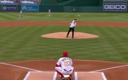 Fauci e il primo lancio MLB: bene ma non benissimo