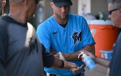 MLB, 17 giocatori dei Miami Marlins positivi