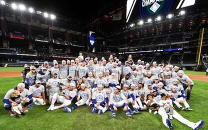 Mlb, gara 7 ai Dodgers, Atlanta rimandata al 2021