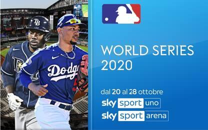 Mlb, World Series 2020: giocano le più forti