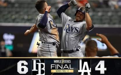 Mlb, un colpo a testa per Dodgers e Rays