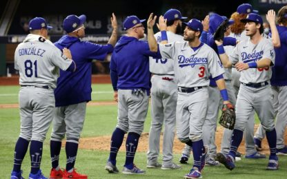 Mlb, per Dodgers il primo match point contro Rays