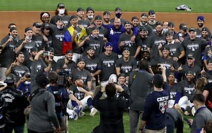 Mlb, World Series: Dodgers campioni dopo 32 anni