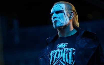 AEW: Sting, la leggenda torna a combattere
