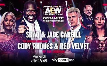 Shaq in AEW, arriva il grande giorno su Sky Sport