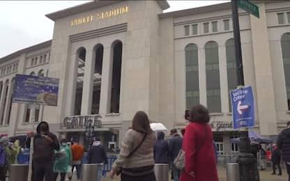 Mlb, riaperto ai tifosi lo Yankee Stadium. VIDEO